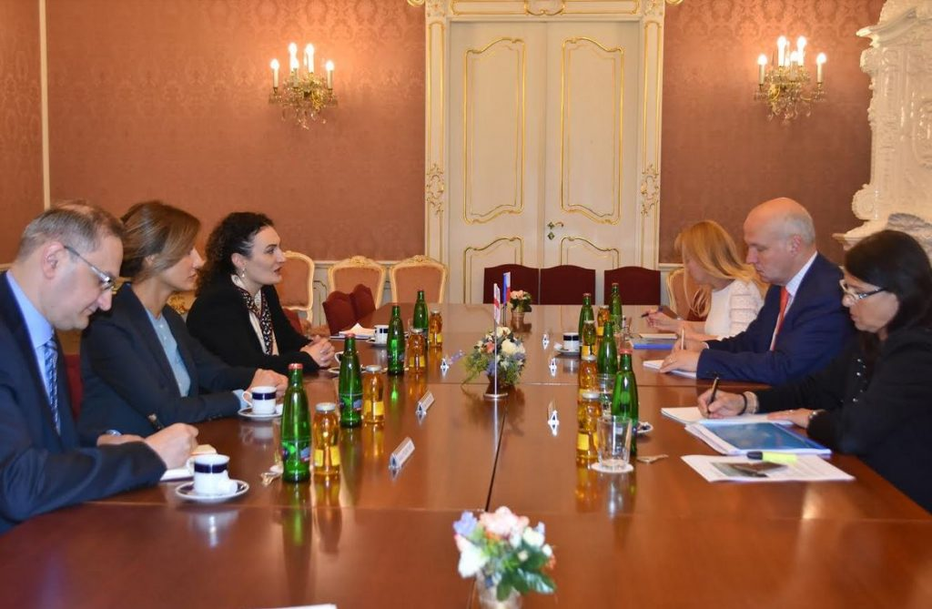 Кетеван Цихелашвили провела встречи в Праге