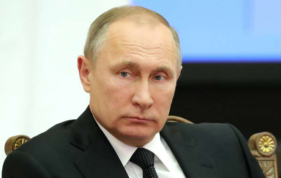 Russians' Trust In Putin Sinks To New Low