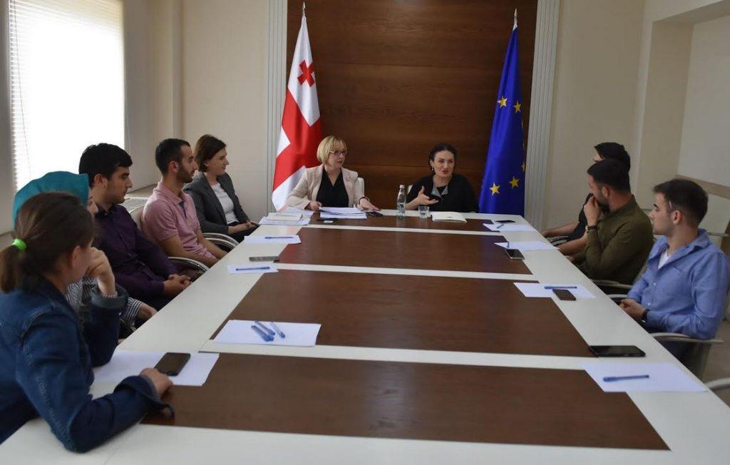 Кетеван Цихелашвили встретилась с панкисской молодежью