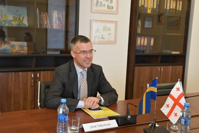 შვედეთის ელჩი - მოუთმენლად ველოდები დამოუკიდებლობის დღის აღნიშვნაში მონაწილეობას