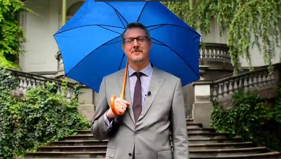 EU Ambassador Carl Hartzell: Long live independent Georgia!