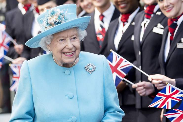 Queen Elizabeth II congratulated Georgia on its Independence Day