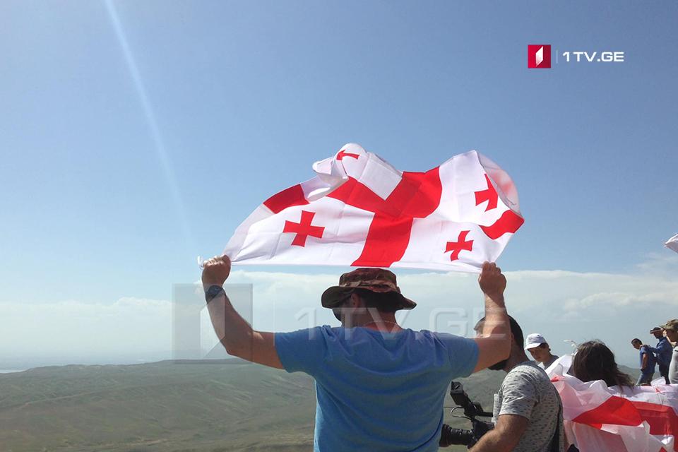 День независимости Грузии отметили в Давид-Гареджи