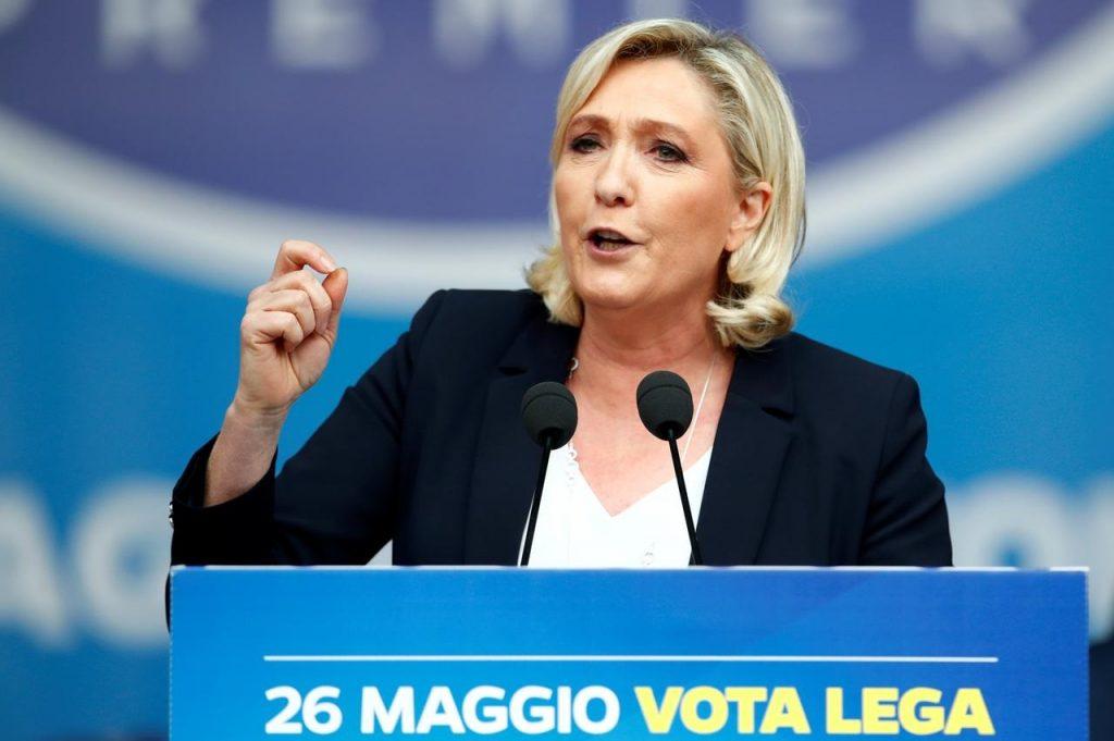 ეგზიტპოლების თანახმად, საფრანგეთში ევროპარლამენტის არჩევნებში მარინ ლე პენის პარტია ლიდერობს