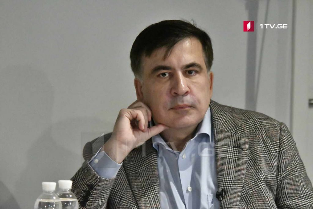 Mikheil Saakashvili says Kobi-Gudauri highway project opens military way for Russia to conquer Tbilisi quickly