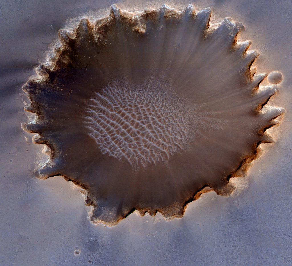 მარსზე ქვიშის დიუნების გადაადგილების საიდუმლო ამოხსნილია