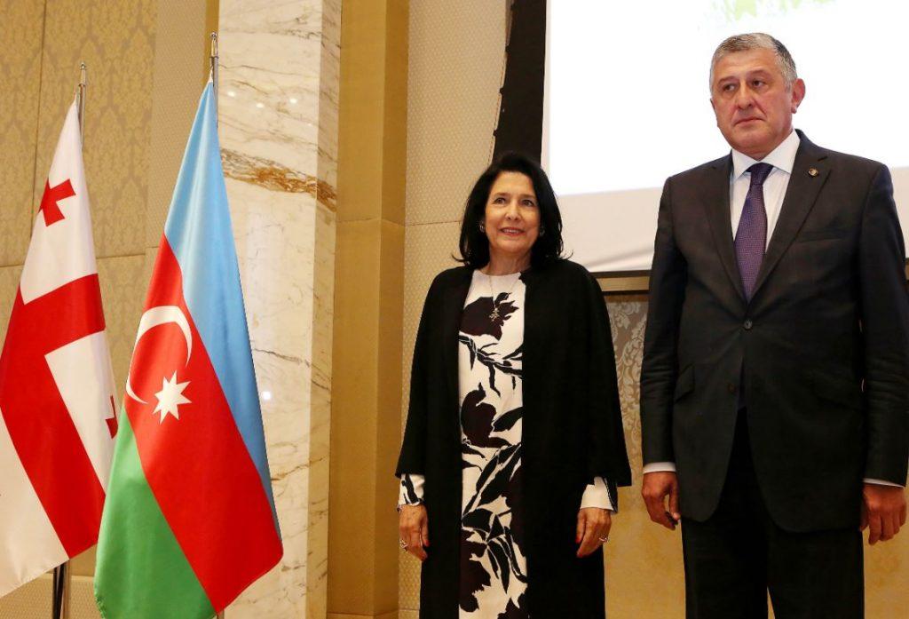 Сaломе Зурaбишвили - Аполитикaтә мaнипулиaциaқәa Қырҭтәылеи, Азербaиџьaни,  Кaвкaз aҟны аҭынчреи ирҧырхaгоуп