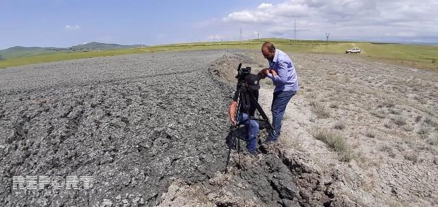 Азербайджаны, Шемахы  районы, цъыфы  вулкан скалдис