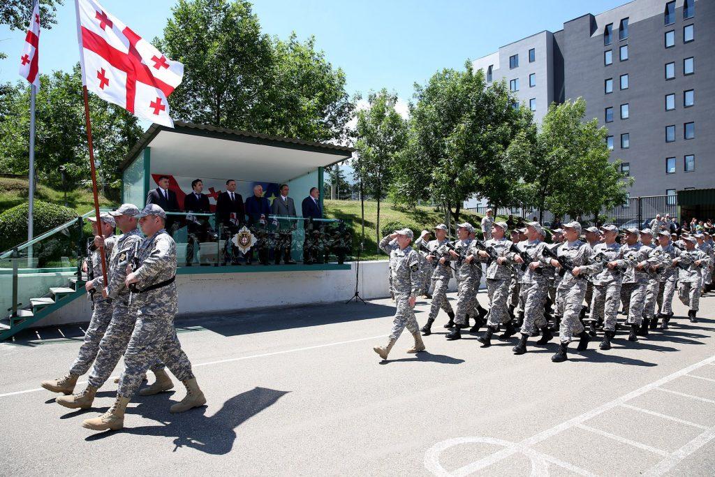 სუს-ისობიექტების დაცვის მთავარი სამმართველოს ახალწვეულებმა სამხედრო ფიცი დადეს