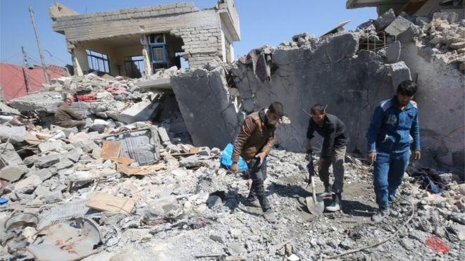 """საერთაშორისო ანტიტერორისტული კოალიცია - აშშ-ის მიერ """"ისლამური სახელმწიფოს"""" წინააღმდეგ ავიაიერიშების შედეგად 1 300-ზე მეტი მშვიდობიანი მოქალაქე დაიღუპა"""