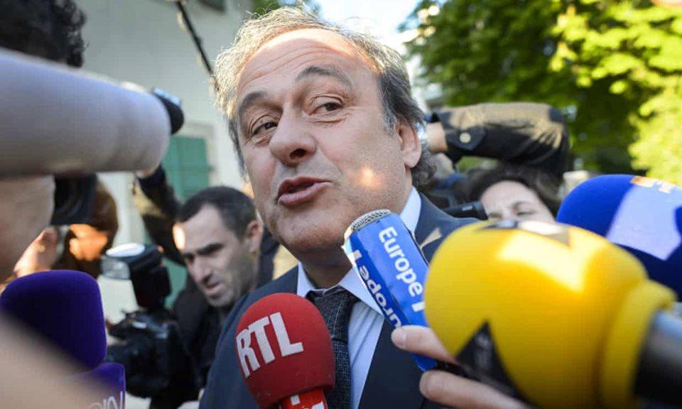 """მიშელ პლატინიმ """"ფიფას"""" (FIFA) პრეზიდენტი გააკრიტიკა"""