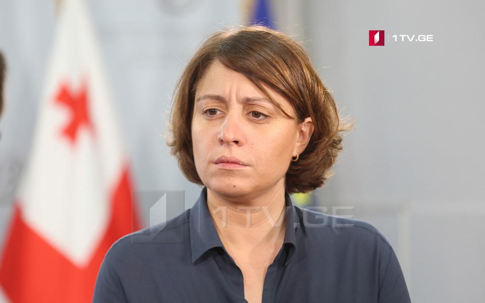 """ელენე ხოშტარია - მინდა, მხარდაჭერა გამოვხატო ეკა ბესელიას მიმართ, რომელსაც განსაკუთრებული სისასტიკით ეპყრობიან """"ქართული ოცნების"""" წევრები"""