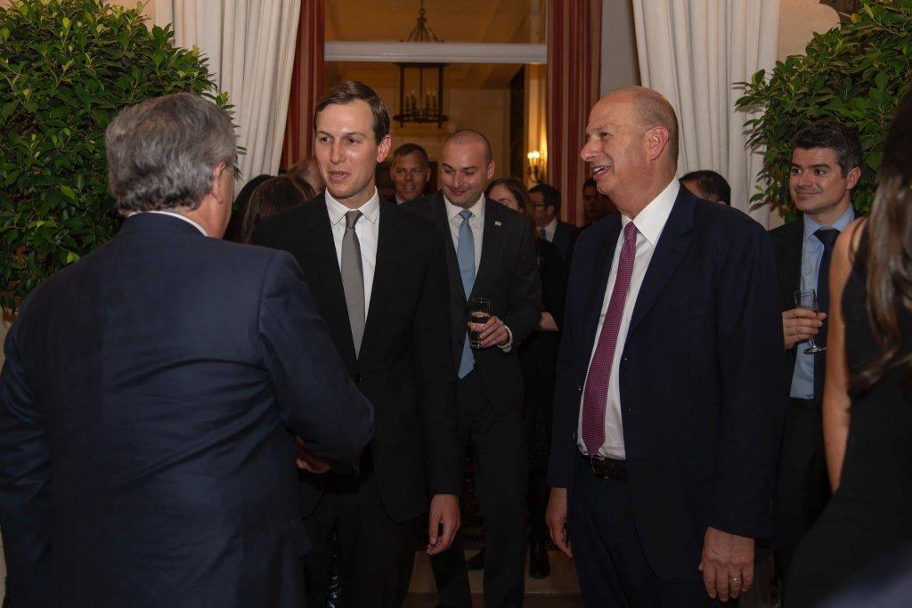 Посол США в ЕС благодарит премьер-министра Мамуку Бахтадзе за визит