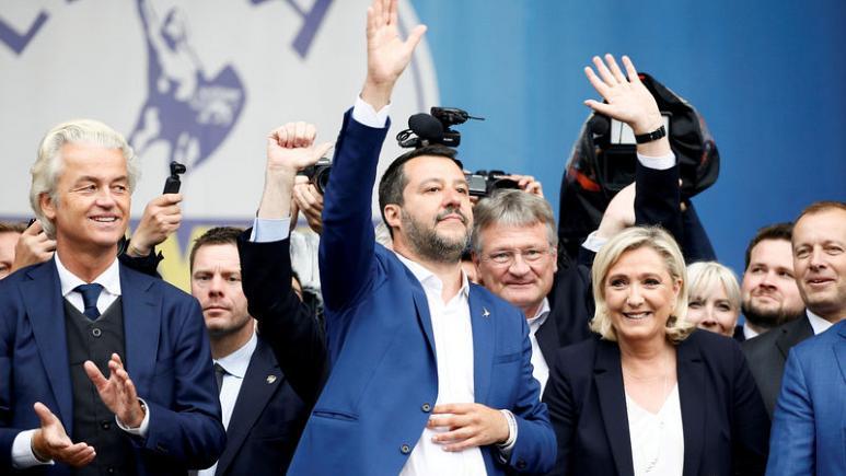 პოლონეთის მმართველი პარტიის ლიდერი იტალიელ და ფრანგ ულტრამემარჯვენეებთან გაერთიანებას გამორიცხავს