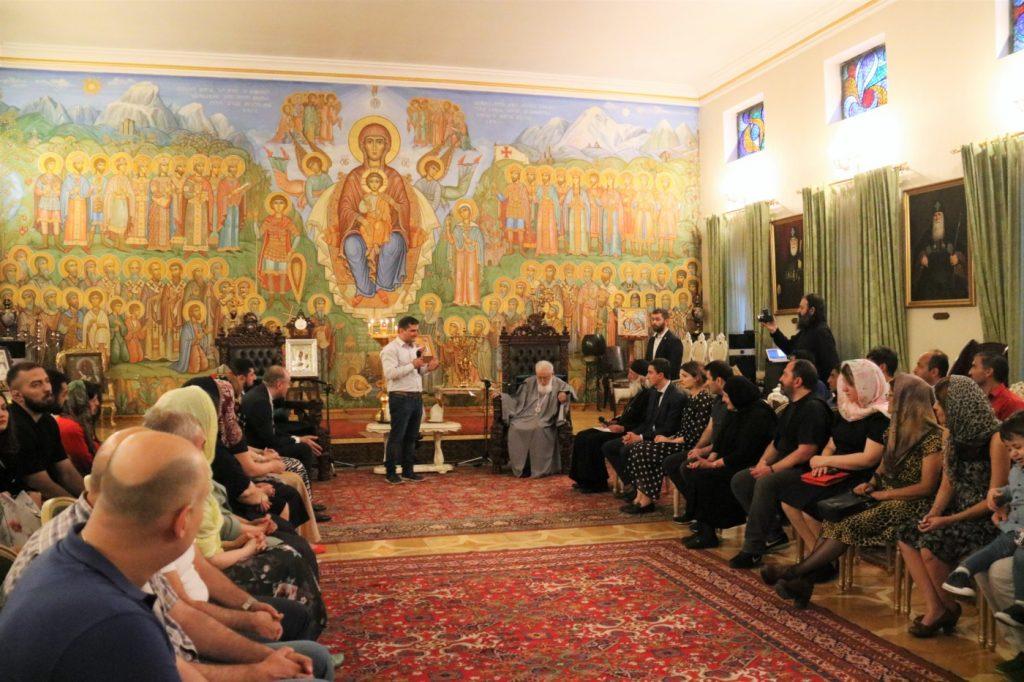 Католикос-Патриарх всея Грузии принял ферейданских грузин