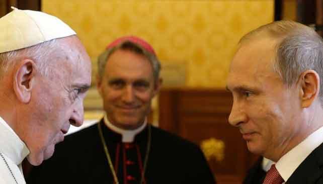 Roma Papası Fransiske iyulun 4-də, Vatikanda Vladimir Putin ilə görüşəcək