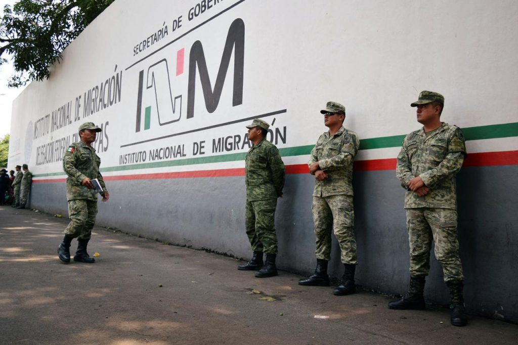 მექსიკამ გვატემალასთან საერთო საზღვარზე ეროვნული გვარდიის ექვსი ათასამდე სამხედრო განათავსა