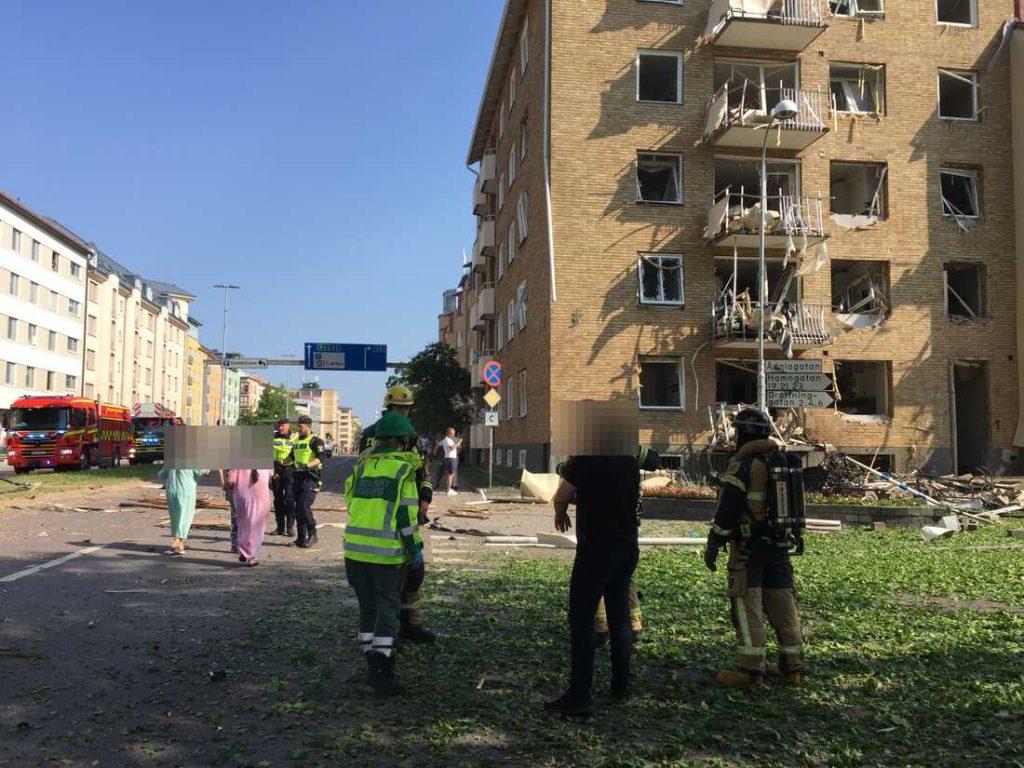 შვედეთში, საცხოვრებელ სახლში აფეთქების შედეგად დაშავებულთა რიცხვმა 25-ს მიაღწია