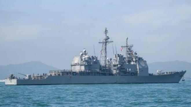 აღმოსავლეთ ჩინეთის ზღვაში აშშ-ისდა რუსეთის სამხედრო ხომალდები ერთმანეთს 50 მეტრით მიუახლოვდნენ