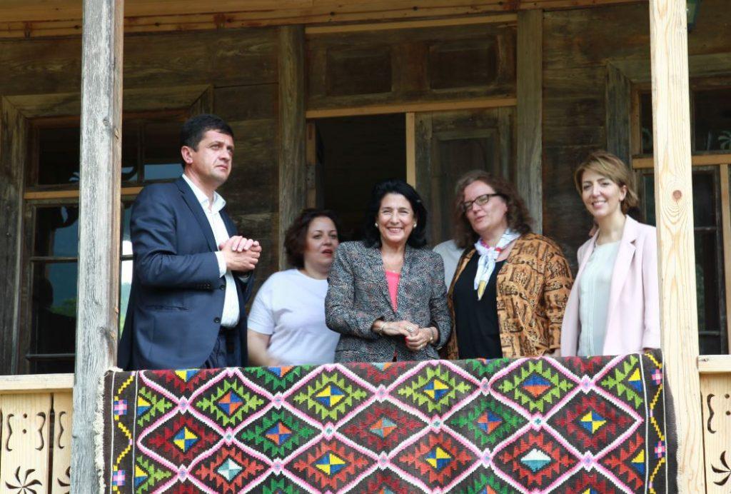 Salome Zurabishvili: I took the initiative to add Oda House to the list of UNESCO