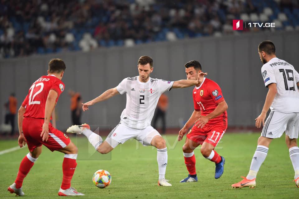 Грузия обыграла Гибралтар со счетом 3:0 | Евро 2020