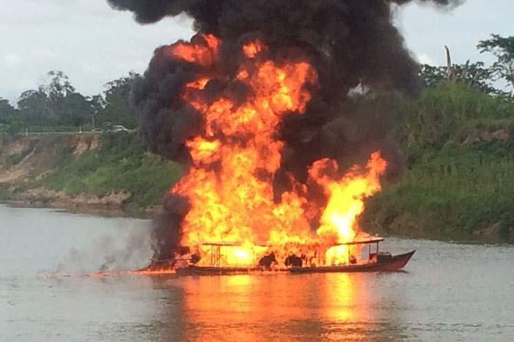 ბრაზილიის ერთ-ერთ შტატში სამგზავრო-სატვირთო ნავი აფეთქდა
