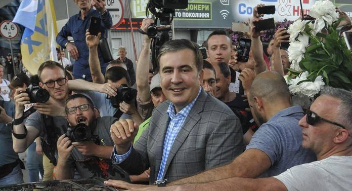 Партия Михаила Саакашвили примет участие в предстоящих парламентских выборах в Украине