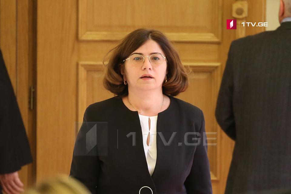 Ирма Надирашвили призывает Генпрокуратуру расследовать влияние Дмитрия Габуния на администрацию президента