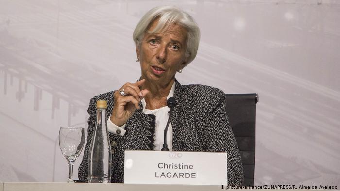 კრისტინ ლაგარდი -არსებული სავაჭრო კონფლიქტები მსოფლიო ეკონომიკის ზრდისთვის მთავარი საფრთხეა