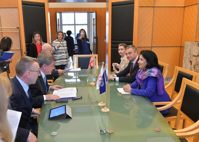 Սալոմե Զուրաբիշվիլի. Աշխատանքի միջազգային կազմակերպության Վրաստանի հետ համագործակցությունը չպետք է իրականացվի Մոսկվայի գրասենյակից