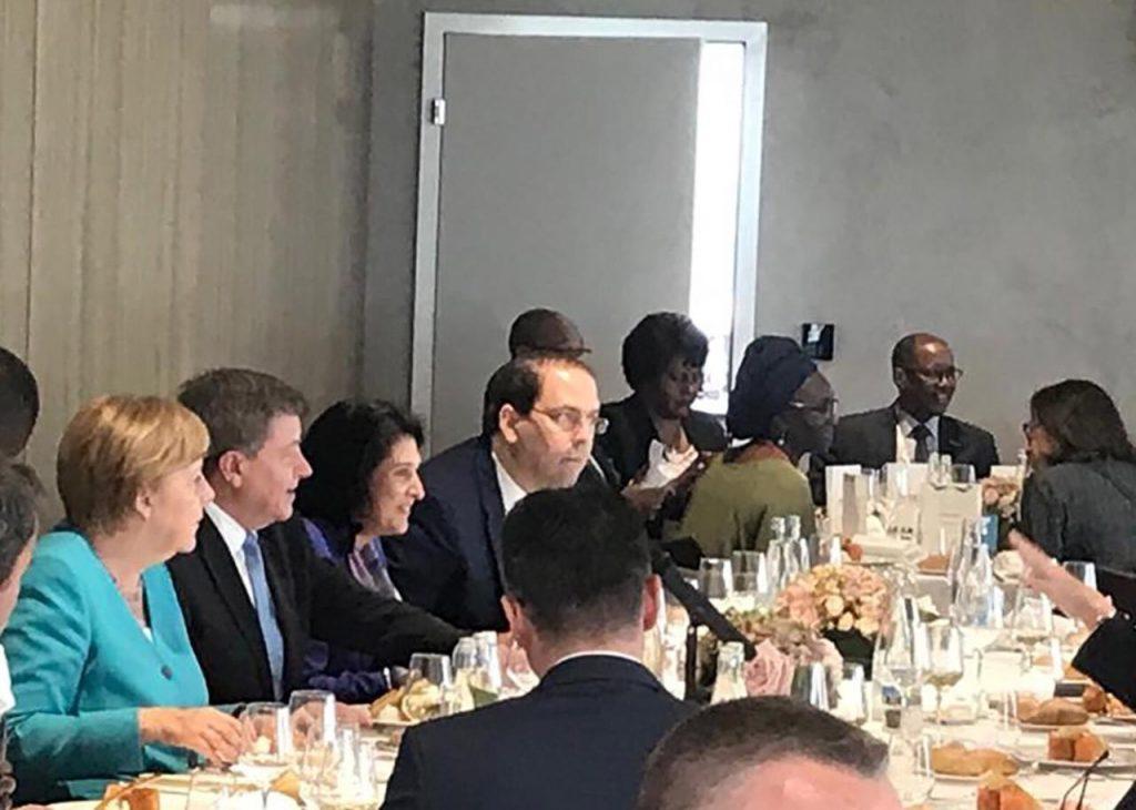 Саломе Зурабишвили присутствовала на ланче для гостей высокого ранга, участвующих в конференции Международной организации труда