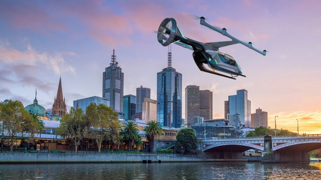 Uber says Melbourne to have flying taxis by 2023