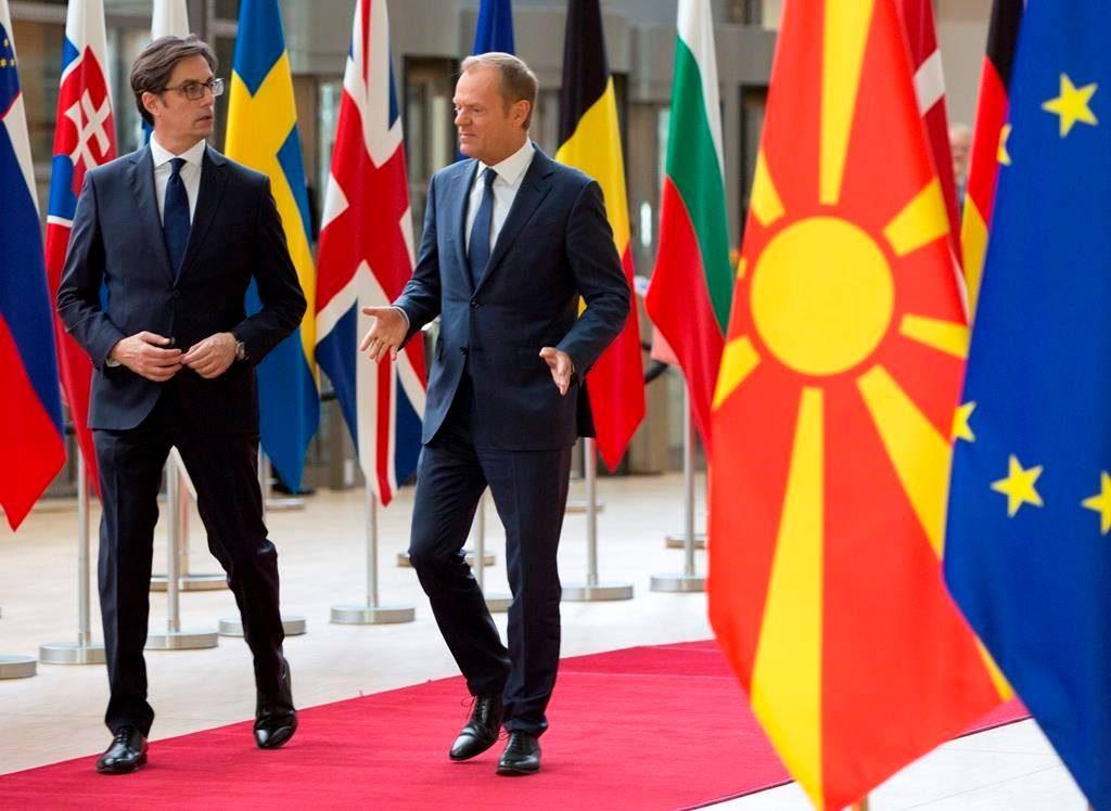 დონალდ ტუსკი - ევროკავშირის წევრი სახელმწიფოები არ არიან მზად, რომ ჩრდილოეთ მაკედონიისა და ალბანეთის გაწევრიანებაზე მოლაპარაკებები დაიწყონ