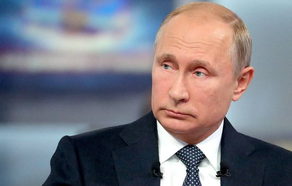Vladimir Putin - NATO's continued expansion posed a threat to Russia