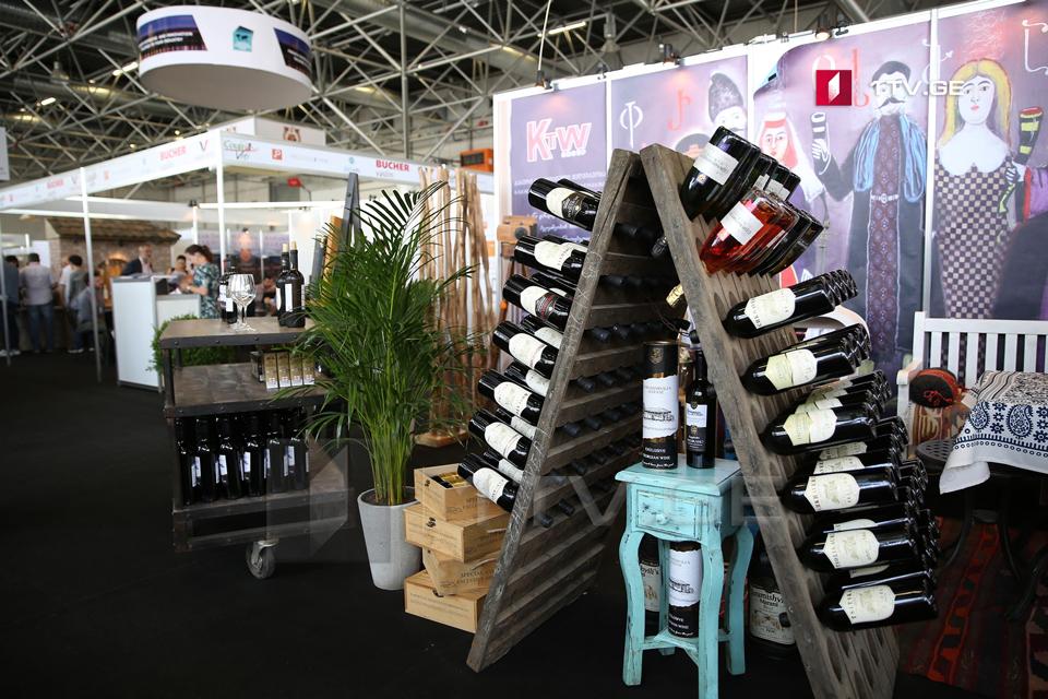 თბილისში ღვინის საერთაშორისო გამოფენა გაიხსნა [ფოტო]