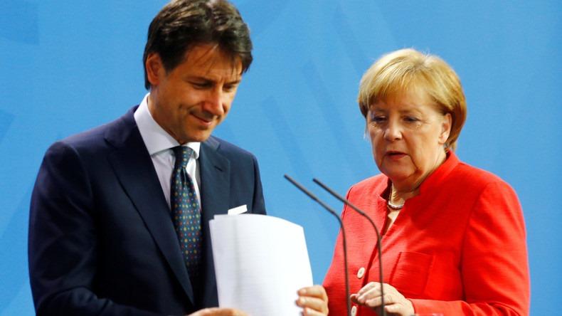 იტალიის პრემიერი მიიჩნევს, რომ ანგელა მერკელი ევროკომისიის პრეზიდენტის თანამდებობაზე კარგი კანდიდატურა იქნება