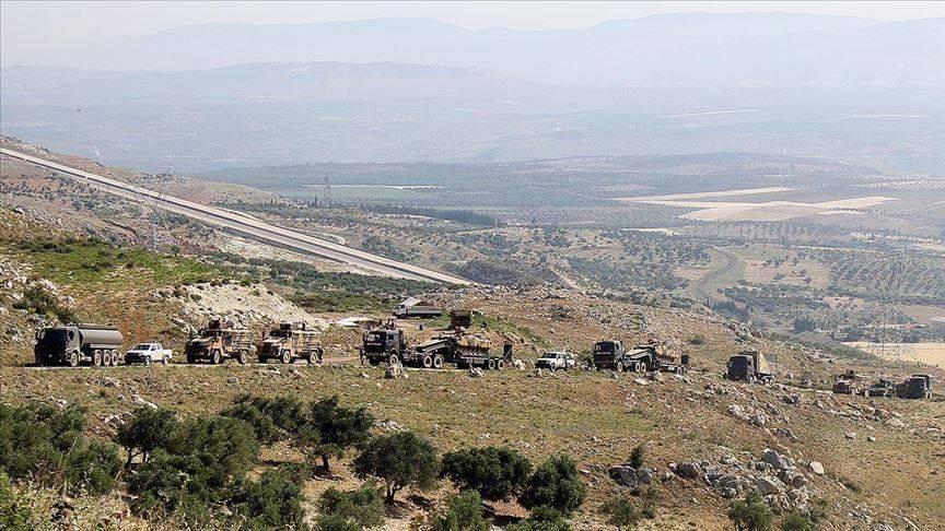 სირიის არმიამ და მისმა მოკავშირეებმა იდლიბის რეგიონში ამბოხებულების ტერიტორია დაბომბეს