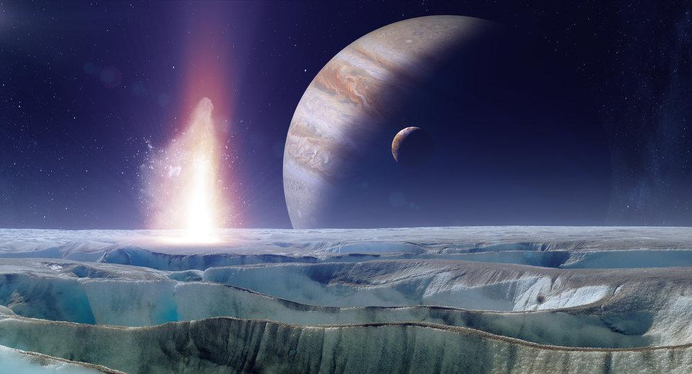 იუპიტერის მთვარე ევროპას ოკეანეში უხვად არის სუფრის მარილი - ახალი კვლევა