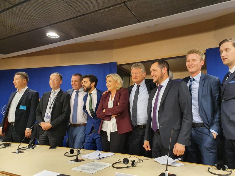 ევროკავშირის ცხრა ქვეყნის ნაციონალისტური პარტიების დეპუტატებმა ევროპარლამენტში ახალი ფრაქცია შექმნეს