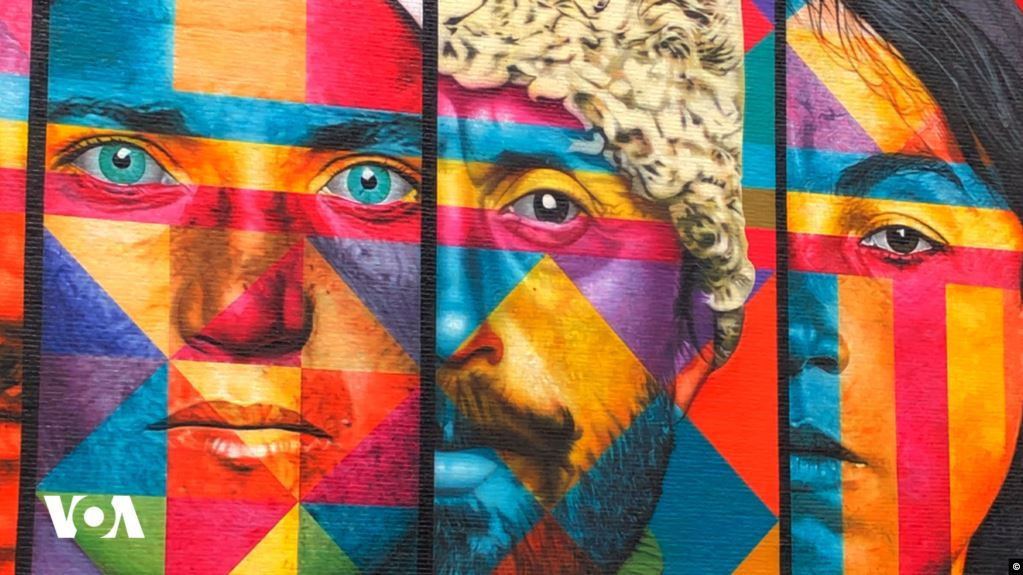 გურული მხედრის სახე ნიუ იორკის ერთ-ერთ ყველაზე მასშტაბურ კედლის მხატვრობაზე