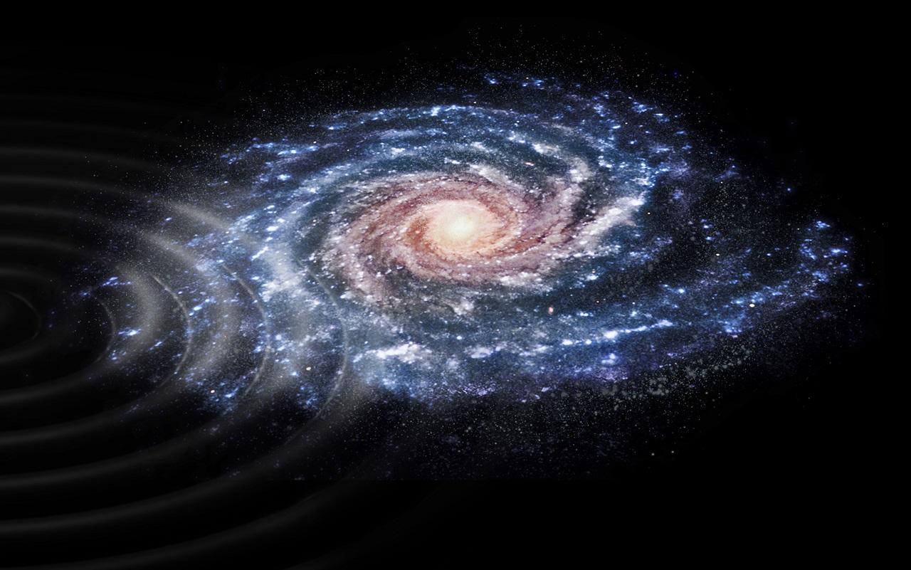 """ასტრონომებმა ირმის ნახტომისა და """"მოჩვენება გალაქტიკის"""" შეჯახების ნიშნები დააფიქსირეს"""
