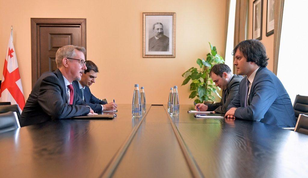 Ираклий Кобахидзе и Карл Харцель обсудили реформу избирательного законодательства