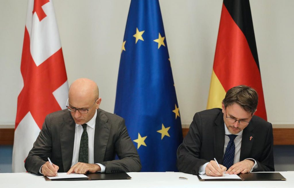 ივანე მაჭავარიანი-საქართველოსა და გერმანიის მთავრობებს შორის ფინანსური თანამშრომლობის ახალი ეტაპი იწყება