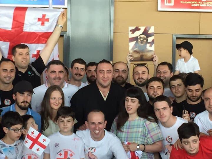 Тотиносин в Тбилиси - Спасибо болельщикам за поддержку