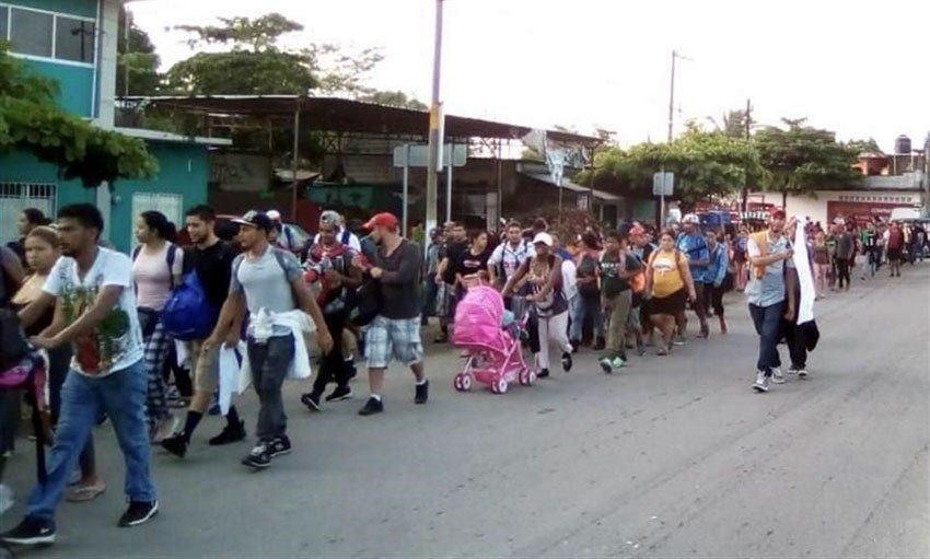 მექსიკის ხელისუფლებამ 791 არალეგალი მიგრანტი დააკავა