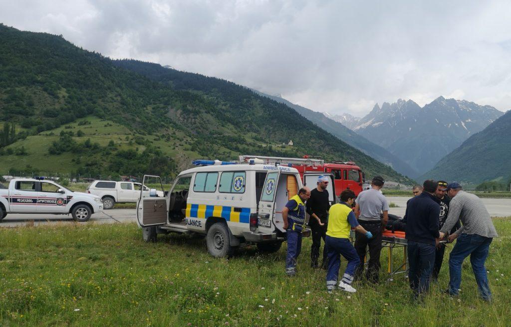 Гражданин Словакии умер на Тетнулди в Сванети