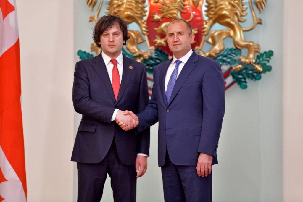 ბულგარეთის პრეზიდენტი - საქართველო ევროკავშირისა და ნატო-სგან ჯილდოს იმსახურებს