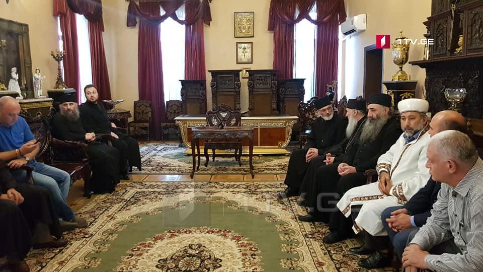 Андриа Джагмаидзе - Мы ведем диалог с представителями разных религий, чтобы в ходе обсуждения был выявлен выход