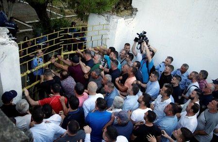 ალბანეთში ოპოზიციის მხარდამჭერებსა და პოლიციას შორის შეტაკება მოხდა