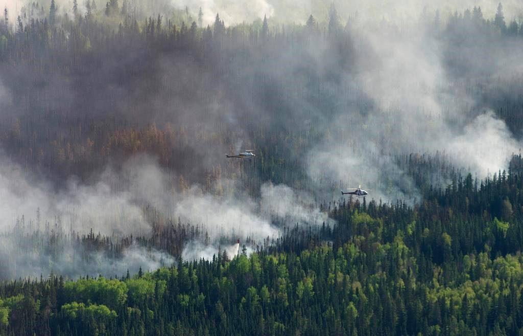 კანადაში ტყის ხანძრის გამო ცხრა ათასზე მეტი ადამიანია ევაკუირებული